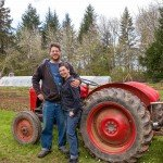 Daniel and Heather, owners of Laughing Salad Farm